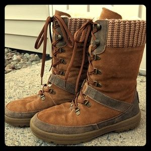 ab4563927c5 Bearpaw Serena Size 9 Leather Boots